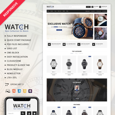 Preview image of Watch Store 3.x