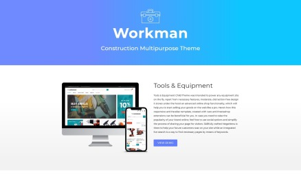 Workman - Construction Multipurpose PrestaShop Theme