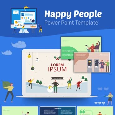 Preview image of Happy People Infographic