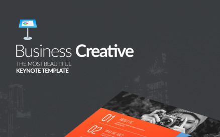 Business Creative Presentation - Keynote template Keynote Template