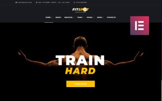 FitSpot - Fitness Studio WordPress Elementor Theme