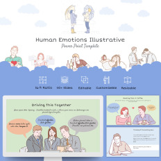 Powerpoint templates animation factory template monster human emotions illustrative powerpoint template event management toneelgroepblik Choice Image