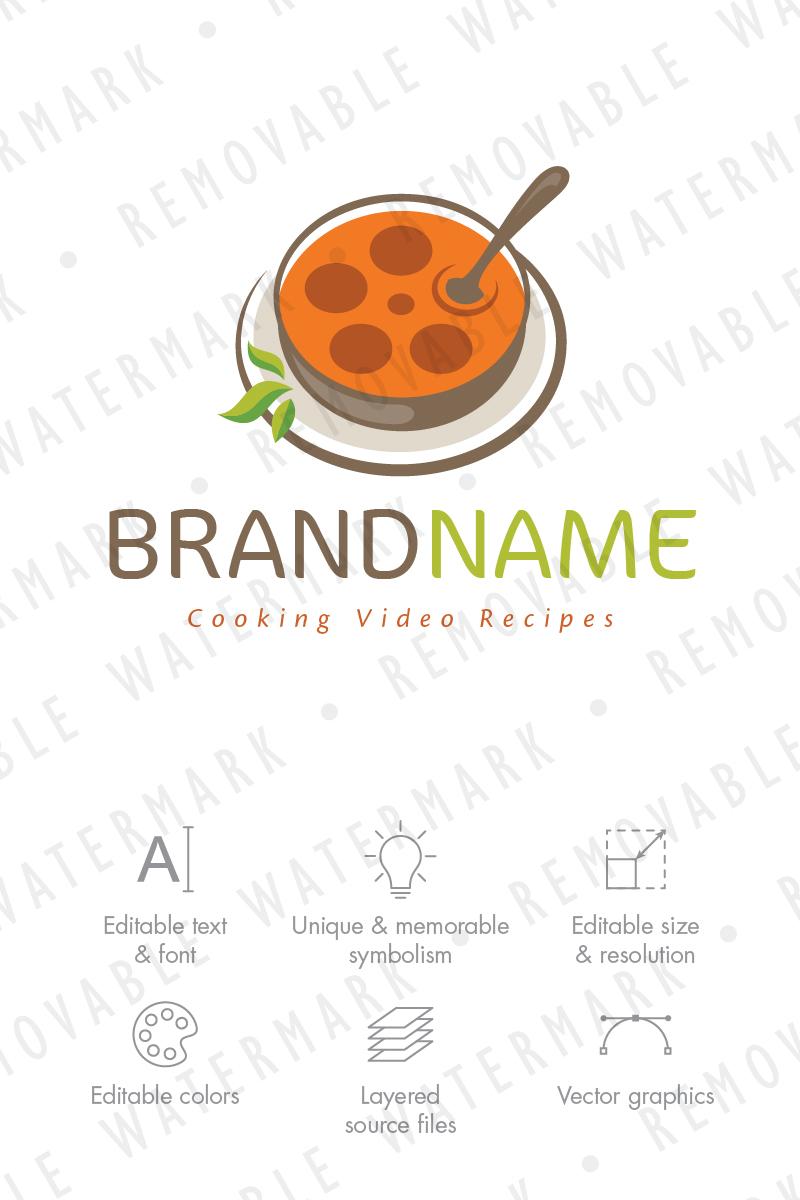 Movie Soup Logo Template #70913