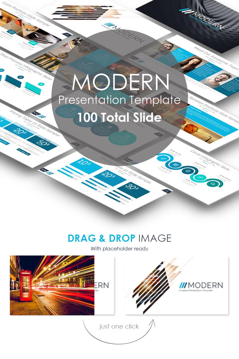 Szablon PowerPoint Modern Presentation #70926