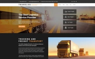 Translog - Logistics Joomla Template