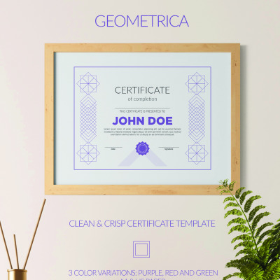 Certificate Templates | Award Certificates | TemplateMonster