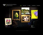 Flash: Art & Photography Personal Pages Flash Site Most Popular Flash 8 Black Templates