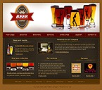 denver style site graphic designs beer company beer mug brewer glass goblet foam bottle variety work team specials menu waiters reservation food dishes tasty testimonials offers