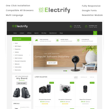 Preview image of Electrify Store