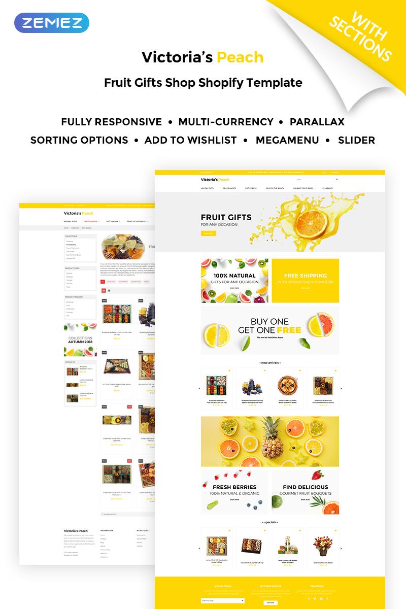 Website Design Template 71026 - souvenir store
