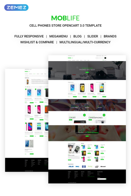 Website Design Template 71034 - shop