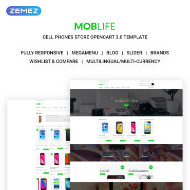 Preview image of MobLife - Cell Phones Store