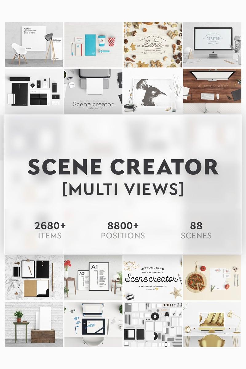 Produktowy mockup Scene Creator Bundle #71001 - zrzut ekranu