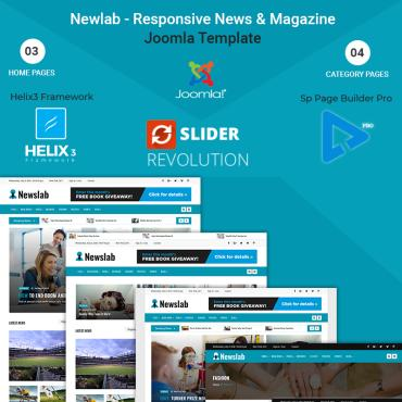 Купить  пофессиональные Joomla шаблоны. Купить шаблон #71136 и создать сайт.