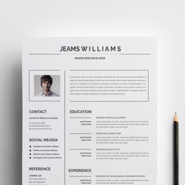 Preview image of Jeams Creative and Clean