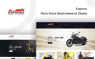 Exporso - Bike Parts Store WooCommerce Theme