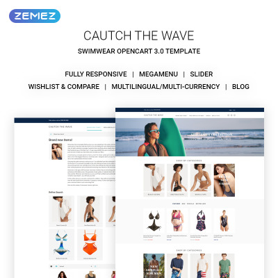 swimwear templates templatemonster