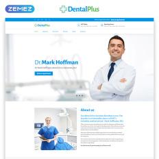 dentistry templates templatemonster
