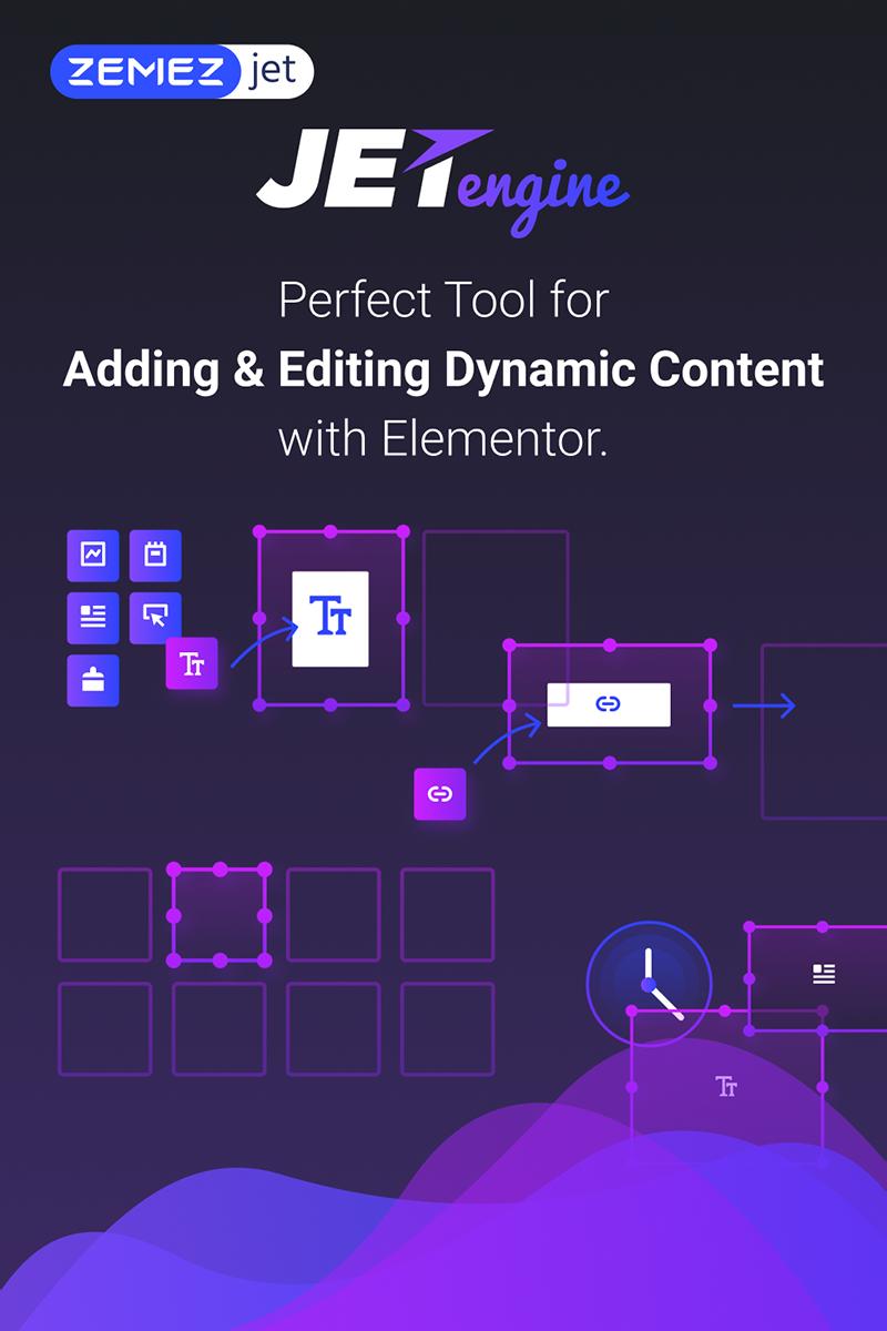 """JetEngine - Adding & Editing Dynamic Content with Elementor"" WordPress 插件 #71125"
