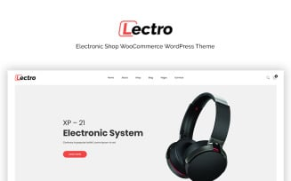Lectro - Electronics Store WooCommerce Theme