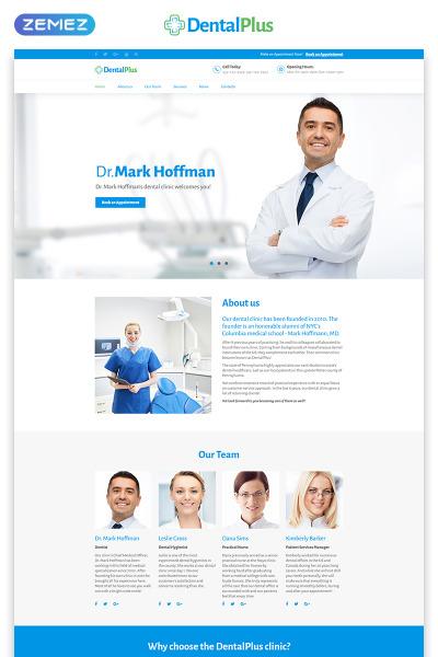 Plantilla para Página de Aterrizaje para Sitio de Equipos médicos #71181