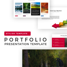 Powerpoint templates size photoshop template monster portfolio presentation toneelgroepblik Gallery
