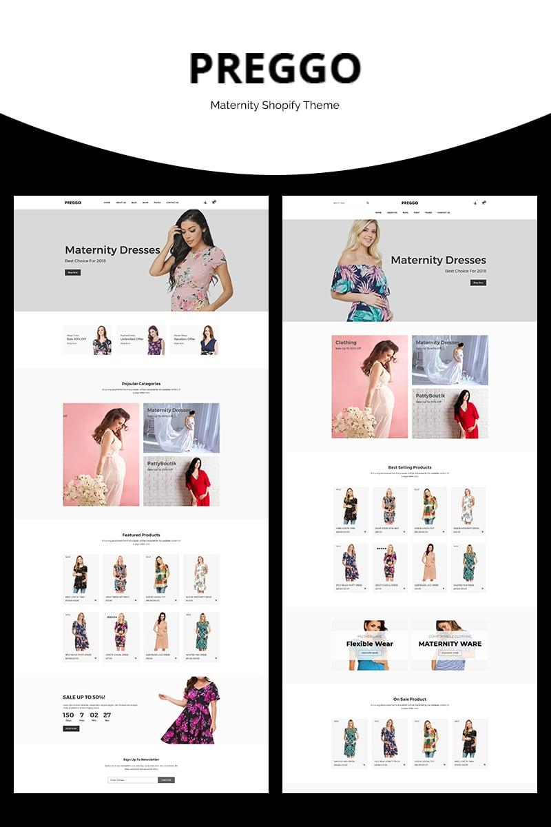 Preggo - Maternity Shopify Theme - screenshot