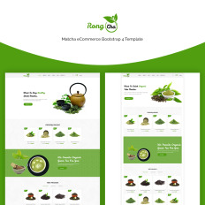 Blank food web templates template monster rongcha matcha bootstrap4 blank food web template maxwellsz