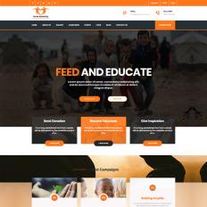 Modern Church Website Wordpress Themes Template Monster