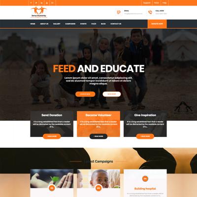 charity templates templatemonster