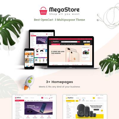 """Tema OpenCart Responsive #71169 """"MegaStore -  Multipurpose"""" #71169"""