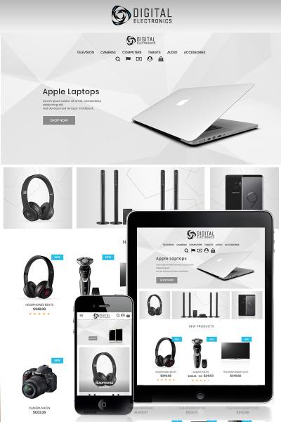 "Tema PrestaShop Responsive #71172 ""Digital Electronics Store 1.7"" #71172"