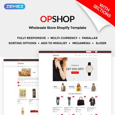 Купить  пофессиональные Shopify шаблоны. Купить шаблон #71203 и создать сайт.