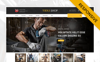 Tools Shop OpenCart Template