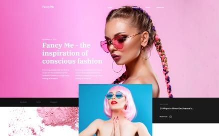 Fancy Me - Fashion Blog Elementor WordPress Theme
