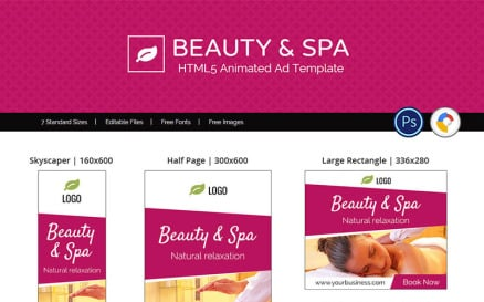 Professional Services | Beauty & Spa Animated Banner