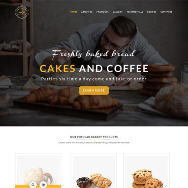 Preview image of Bakery Template