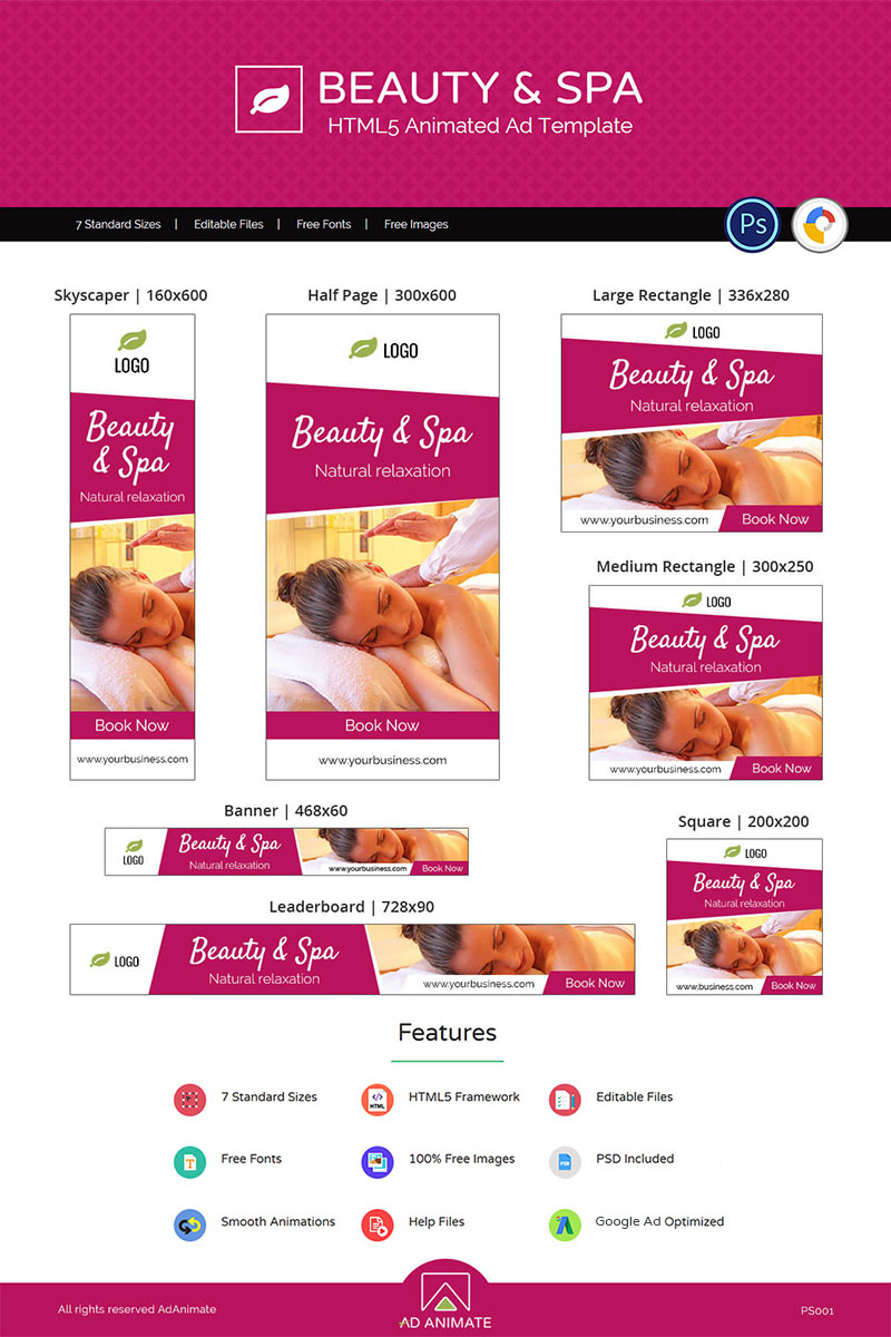 """Animated Banner namens """"Professional Services 