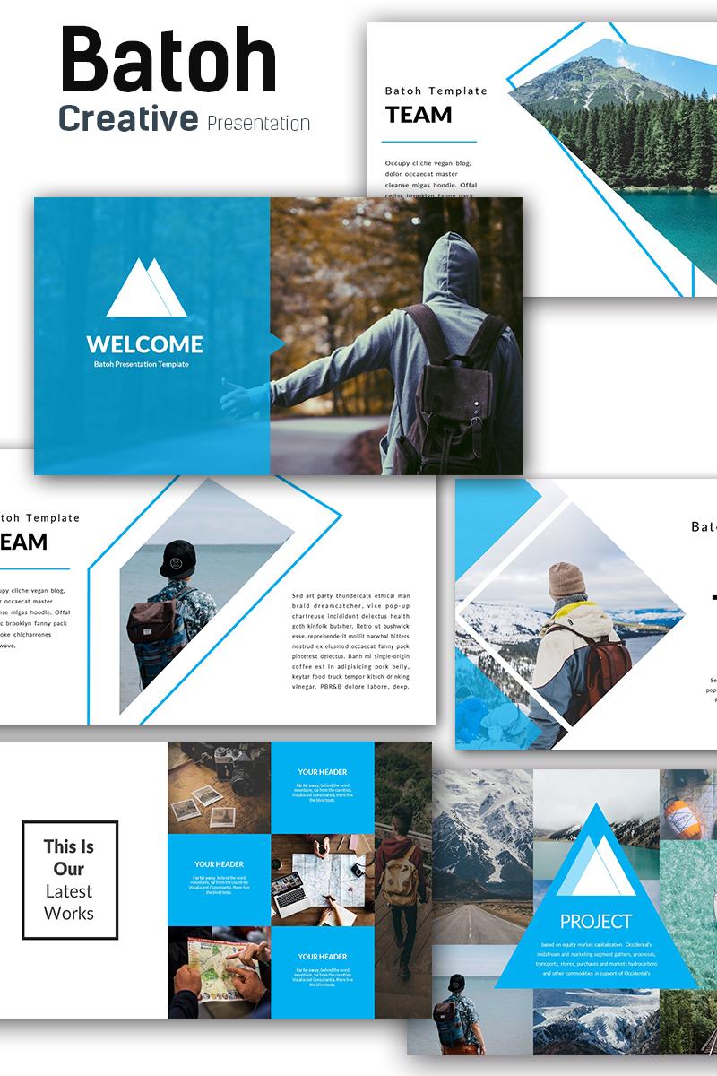 Batoh Modern Template PowerPoint №71208