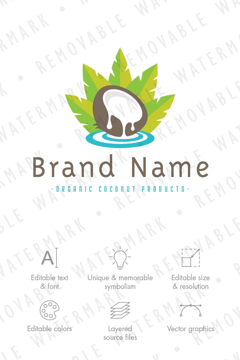 coconut garden logo template 71214