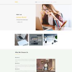 Designer Portfolio Psd Templates