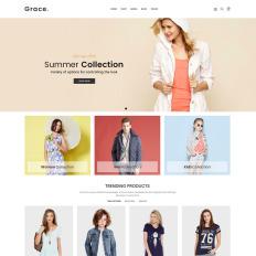 Fashion store templates templatemonster grace minimal fashion store maxwellsz