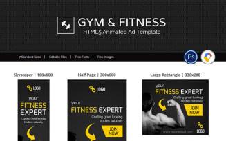 Health & Fitness | Fitness Expert Animated Banner