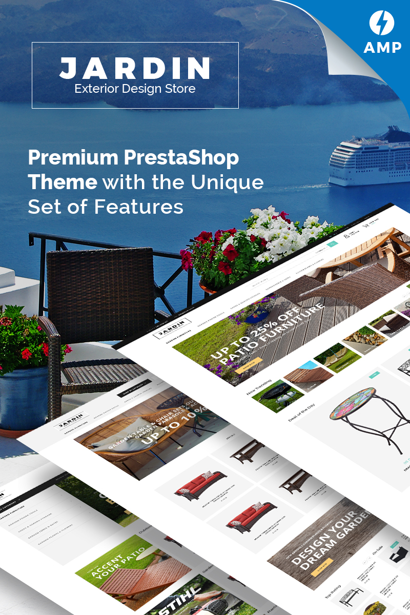 Jardin - Exterior Design Store PrestaShop Theme
