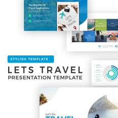 Cute girly powerpoint templates template monster lets travel apple microsoft powerpoint template toneelgroepblik