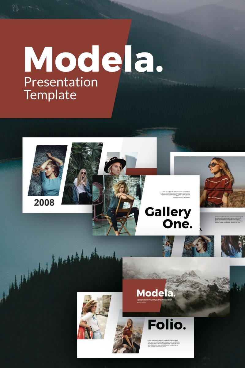 Modela Modern PowerPoint Template