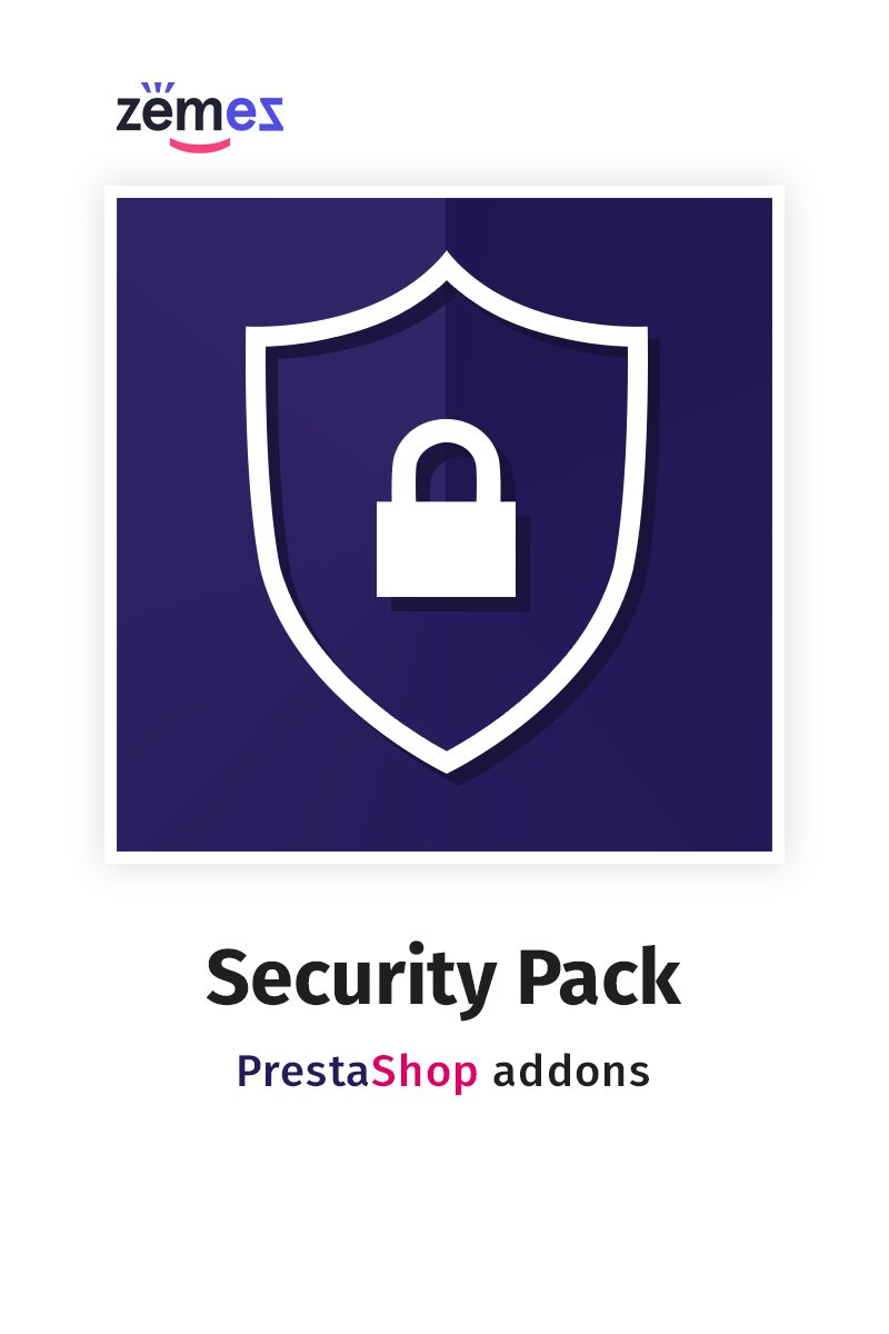"Modul PrestaShop ""Security Pack"" #71223"