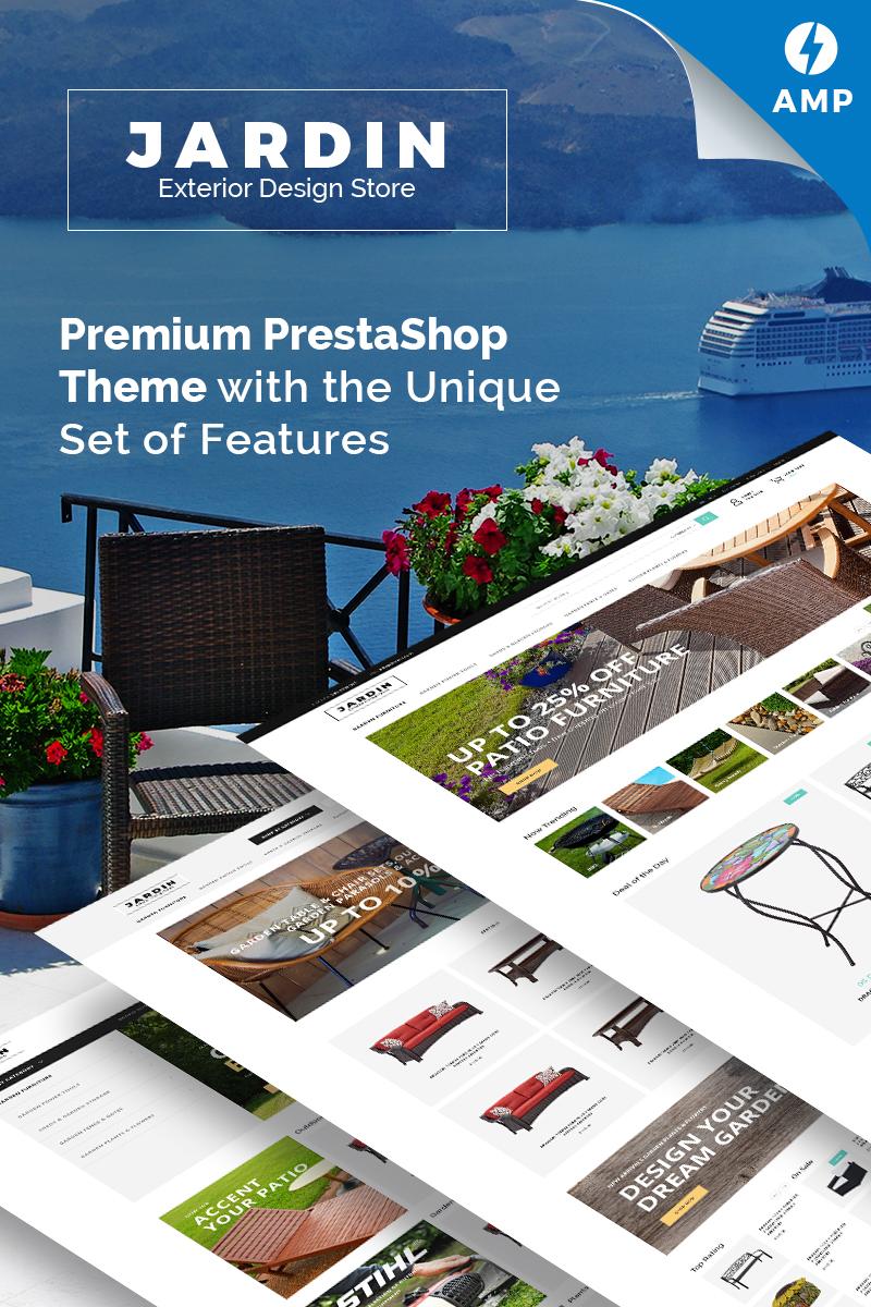 "PrestaShop Theme namens ""Jardin - Exterior Design Store"" #71249"