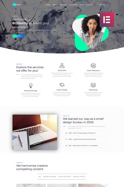 Trucking Responsive WordPress Teması