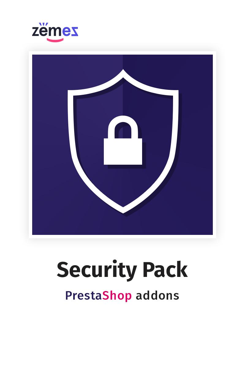 """Security Pack"" extension pour PrestaShop   #71223"